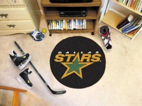Dallas Stars Hockey Puck Mat