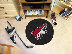 Phoenix Coyotes Hockey Puck Mat