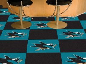 San Jose Sharks Carpet Tiles
