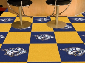 Nashville Predators Carpet Tiles