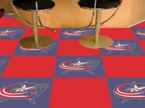 Columbus Blue Jackets Carpet Tiles