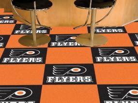 Philadelphia Flyers Carpet Tiles