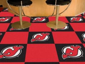 New Jersey Devils Carpet Tiles
