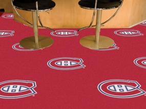 Montreal Canadiens Carpet Tiles