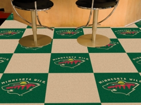 Minnesota Wild Carpet Tiles