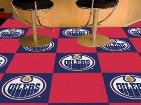 Edmonton Oilers Carpet Tiles
