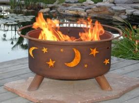 Evening Sky Fire Pit