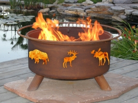 Wildlife Fire Pit