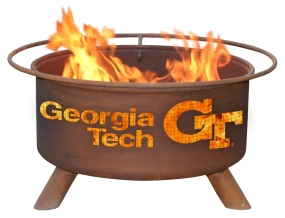 Georgia Tech Yellow Jackets Fire Pit