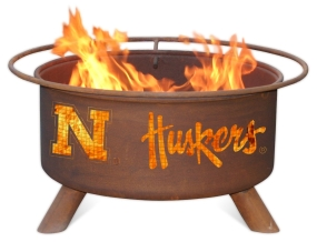 Nebraska Cornhuskers Fire Pit