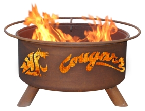 Washington State Cougars Fire Pit