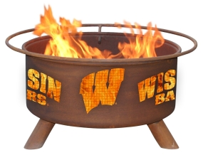 Wisconsin Badgers Fire Pit