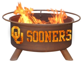 Oklahoma Sooners Fire Pit