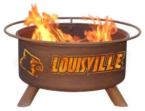 Louisville Cardinals Fire Pit