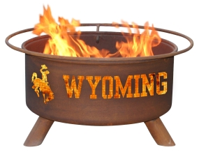 Wyoming Cowboys Fire Pit