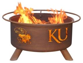 Kansas Jayhawks Fire Pit