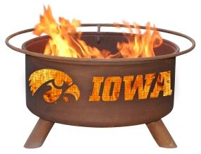 Iowa Hawkeyes Fire Pit