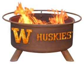 Washington Huskies Fire Pit