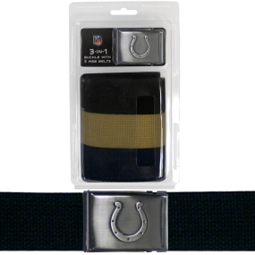 Colts Tri-Pack Web Belt