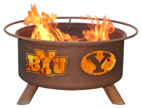 BYU Cougars Fire Pit