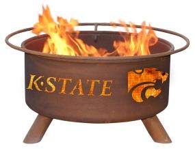 Kansas State Wildcats Fire Pit
