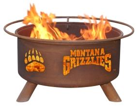Montana Grizzlies Fire Pit