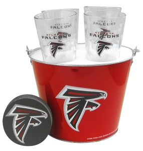 Atlanta Falcons Gift Bucket Set