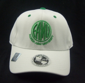 Florida A&M Rattlers White One Fit Hat