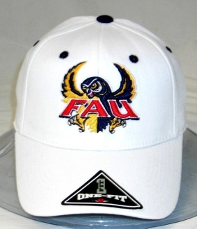 FAU Owls White One Fit Hat