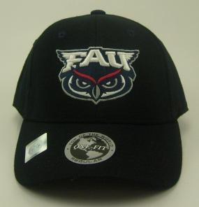 FAU Owls Black One Fit Hat