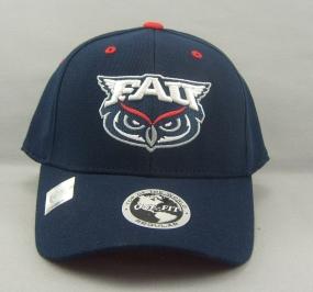 FAU Owls Team Color One Fit Hat
