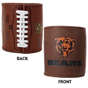 Chicago Bears 2pc Football Can Holder Set