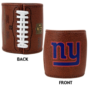 New York Giants 2pc Football Can Holder Set