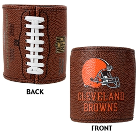Cleveland Browns 2pc Football Can Holder Set