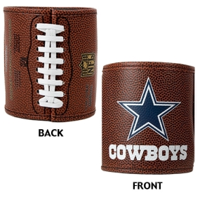 Dallas Cowboys 2pc Football Can Holder Set