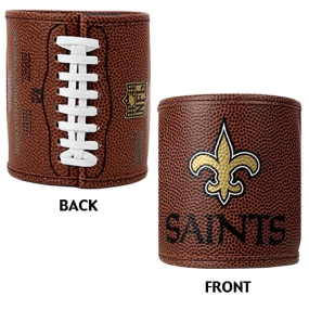 New Orleans Saints 2pc Football Can Holder Set