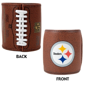 Pittsburgh Steelers 2pc Football Can Holder Set