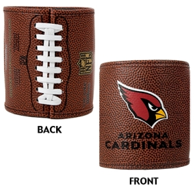 Arizona Cardinals 2pc Football Can Holder Set