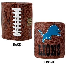 Detroit Lions 2pc Football Can Holder Set