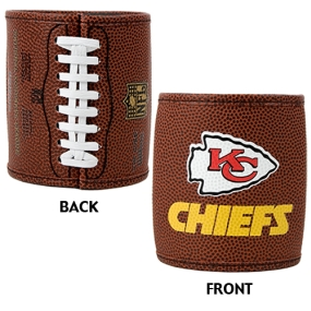 Kansas City Chiefs 2pc Football Can Holder Set