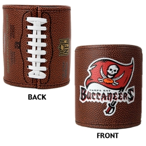 Tampa Bay Buccaneers 2pc Football Can Holder Set