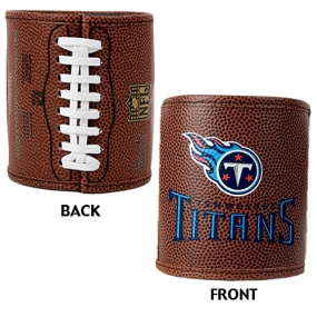 Tennessee Titans 2pc Football Can Holder Set
