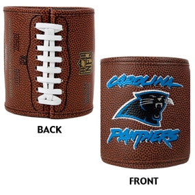 Carolina Panthers 2pc Football Can Holder Set