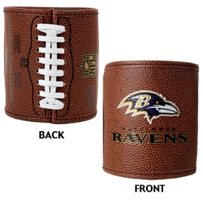 Baltimore Ravens 2pc Football Can Holder Set