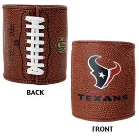 Houston Texans 2pc Football Can Holder Set