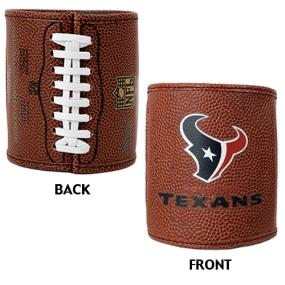 Houston Texans 2pc Football Can Holder Set