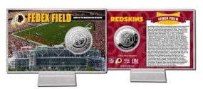 FedEx Field Silver Coin Card