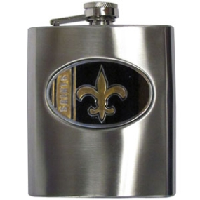 Saints Hip Flask