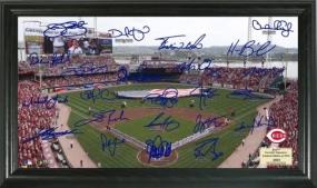 Cincinnati Reds Signature Field Collection