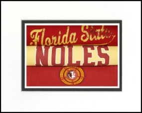 Florida State Seminoles Vintage T-Shirt Sports Art